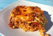 Συνταγή Παστίτσιο με Kρεμώδη Μπεσαμέλ