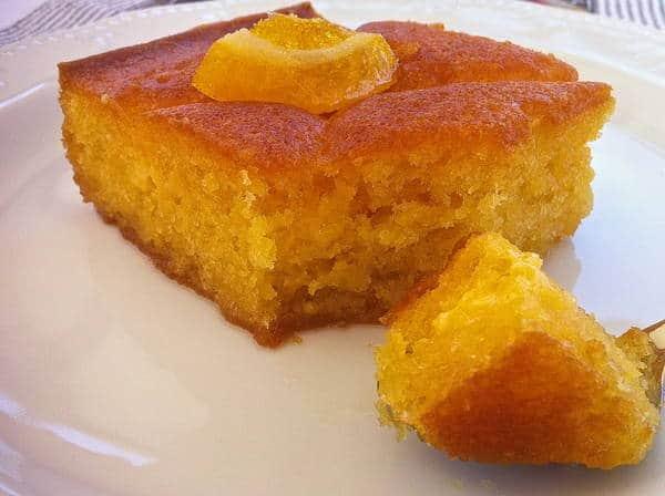 Lemon And Saffron Pound Cake