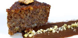 Παραδοσιακή Καρυδόπιτα σιροπιαστή Συνταγή (Kαρυδόπιτα με φρυγανιά)