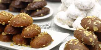 Μελομακάρονα με σοκολάτα συνταγή